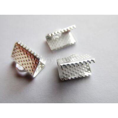 Ezüst szalag végzáró 10 mm
