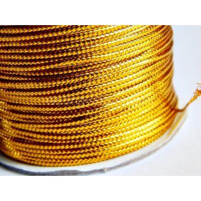 Arany lurex zsinór 1 mm