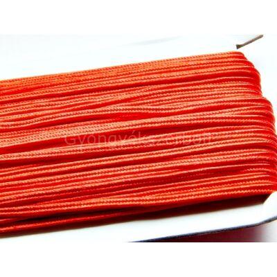 Piros sujtás zsinór 3 mm