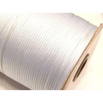 Fehér viaszolt poliészter zsinór 0,5 mm - 150 méter