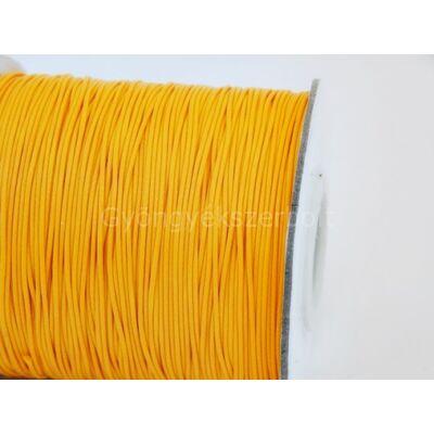 Narancs viaszolt poliészter zsinór 0,5 mm - 10 méter
